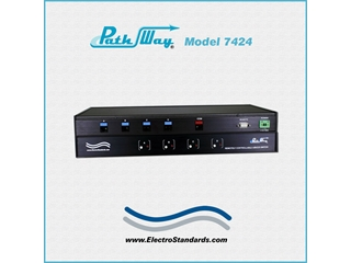 Catalog # 307424 - Model 7424 RJ45 CAT5 A/B/C/D Switch
