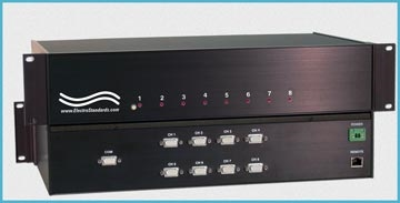 8-to-1 HD15 Switch, LAN Access