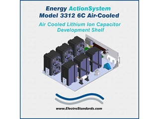331206C - Energy ActionSystem Model 3312-6C, Air Cooled Lithium Ion Capacitor Development Shelf