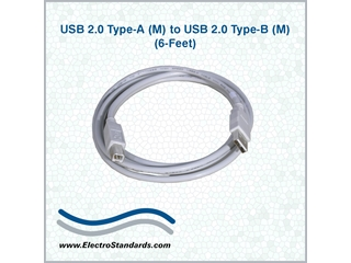 507366 - 507366 USB 2.0 Type A to USB 2.0 Type B Cable 6ft