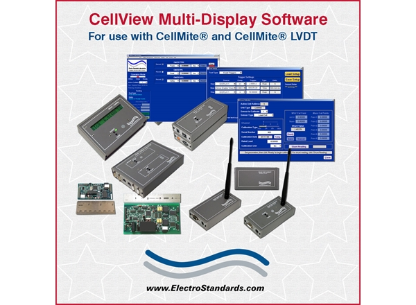 Multi-Display Software for CellMite Product Line