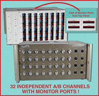 8 RJ45 8-Channel A/B Switch
