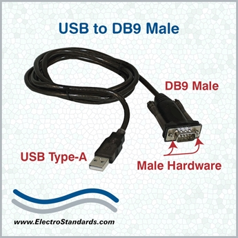 528693 - 528693 usb/db9 serial converter cable, male with male hardware  $29 00