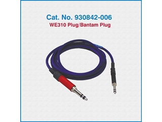 Telco Test Cable 930842-006 WE310 Plug/Bantam Plug