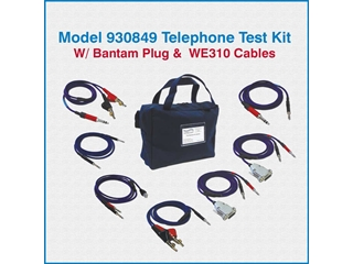 Telco Test Cable 930849 -Telephone/Telecom Field TechnicianTest Kit