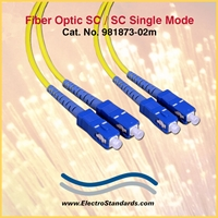 SC/SC Single mode fiber cable assembly