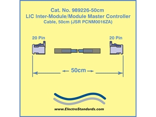 Cable for SuperCapacitor Inter-Module Master Controller, 50 cm, Catalog#989226-50CM