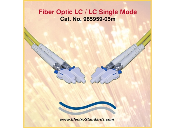 LC/LC Single Mode Fiber Optic Assembly