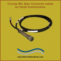 MIL spec connector Cables for Harsh Environments