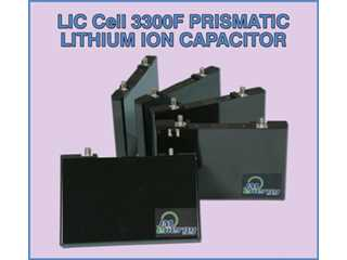 3300F Prismatic Lithium Ion Capacitor Cell ESL703301 (JSR CPQ3300SD)