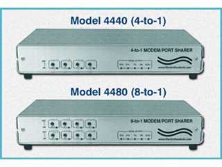 Catalog # 302050 - Model 4440 DB25 RS232 4-Way Switch