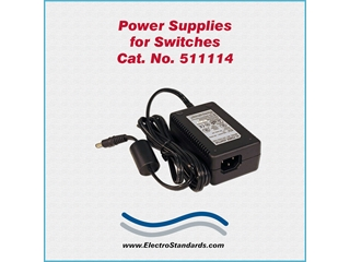 Catalog # 511114 - Model 511114 Power Supply, Wide Range 100-240 VAC/5 VDC