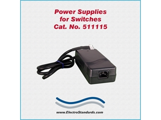 Catalog # 511115 - Model 511115 Power Supply, 100-240 VAC/5 VDC