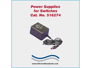 Catalog # 516274 - Model 516274 Power Supply, 120 VAC/12 VDC