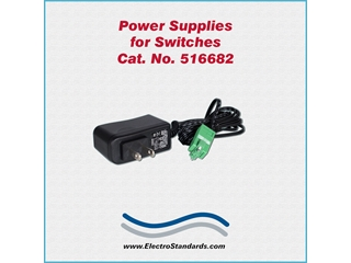 Catalog # 516682 - Model 516682 Power Supply, 100 -240 VAC/12 VDC