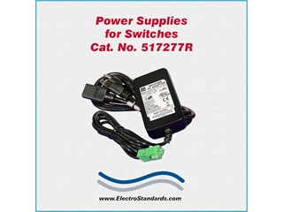 Catalog # 517277R - Model 517277R Power Supply, 100-240 VAC/12 VDC, RoHS Compliant