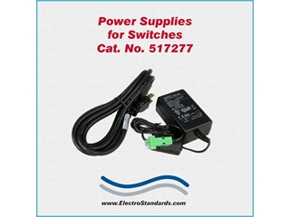 Catalog # 517277 - Model 517277 Power Supply, 100-240 VAC/12 VDC