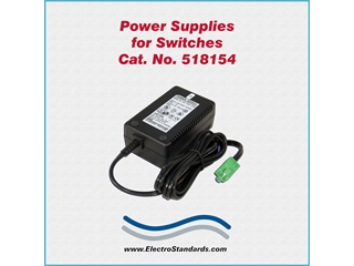 Catalog # 518154 - Model 518154 Power Supply, 100-240 VAC/5 VDC
