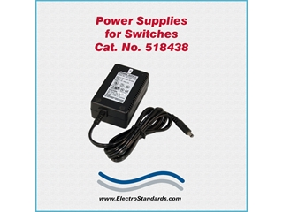 Catalog # 518438 - Model 518438 Power Supply, 100-240 VAC/5 VDC
