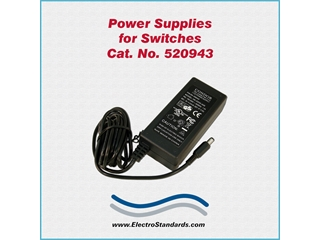 Catalog # 520943 - Model 520943 Power Supply, 100-240 VAC/5 VDC