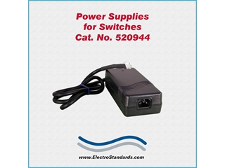 Catalog # 520944 - Model 520944 Power Supply, 100-240 VAC/5 VDC