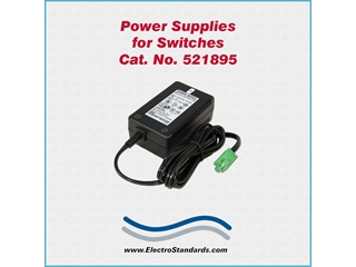 Catalog # 521895 - Model 521895 Power Supply, 100-240 VAC/5 VDC