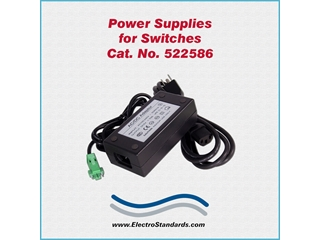 Catalog # 522586 - Model 522586 Power Supply, 100-240 VAC/5 VDC