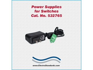 532675 - 532765 Power Supply, 100 -240 VAC/12 VDC