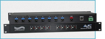 Model 7328 8-to-1 RJ45 Cat5 Switch with 10/100 Base-T LAN Access Ethernet