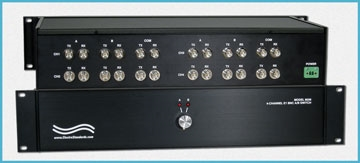 Model 8036 E1 TX/RX BNC 4-Channel AB Manual Switch with LED's to display and verify position.