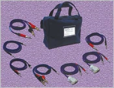 Telephone and Telecom Test Kit, Catalog No. 930849 Available with Bantam Plug/Two Mini-Grab Test Hooks Cable