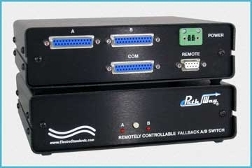 Model 4121 Automatic Fallback and Recovery A/B Switch with Remote Management Port