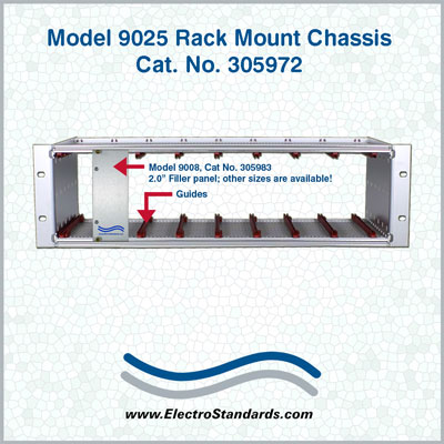Model 9025 Rack Mount Chassis Cat No 305972