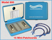 Model 800 HSSI (SCSI-2) Interface Breakout Box