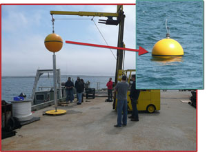 Direct Drive System deployment in Rhode Island's Narragansett Bay.