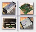 Hisgh Speed, Ruggedized Interface Converters, HP FIber Converters, Fiber Optic Switches, Copper Network Switches, RJ45, DB25, BNC, USB