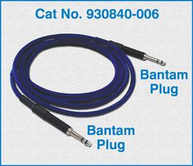 Bantam Plug to Bantam Plug / 930840-006