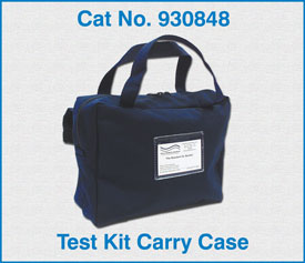 Test Kit Carry Case for telephone  / Telecom Field TechniciansTest Kit