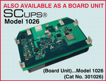 SCUPS® Model 1026 Super Capacitor Uninterruptible Power Suppy
