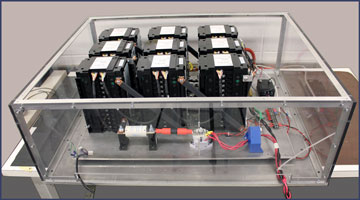 Energy ActionSystem 3300-9x12 Lithium Ion Capacitor Development Shelf