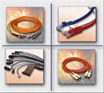 Data Network Cables, Copper, Fiber Optic
